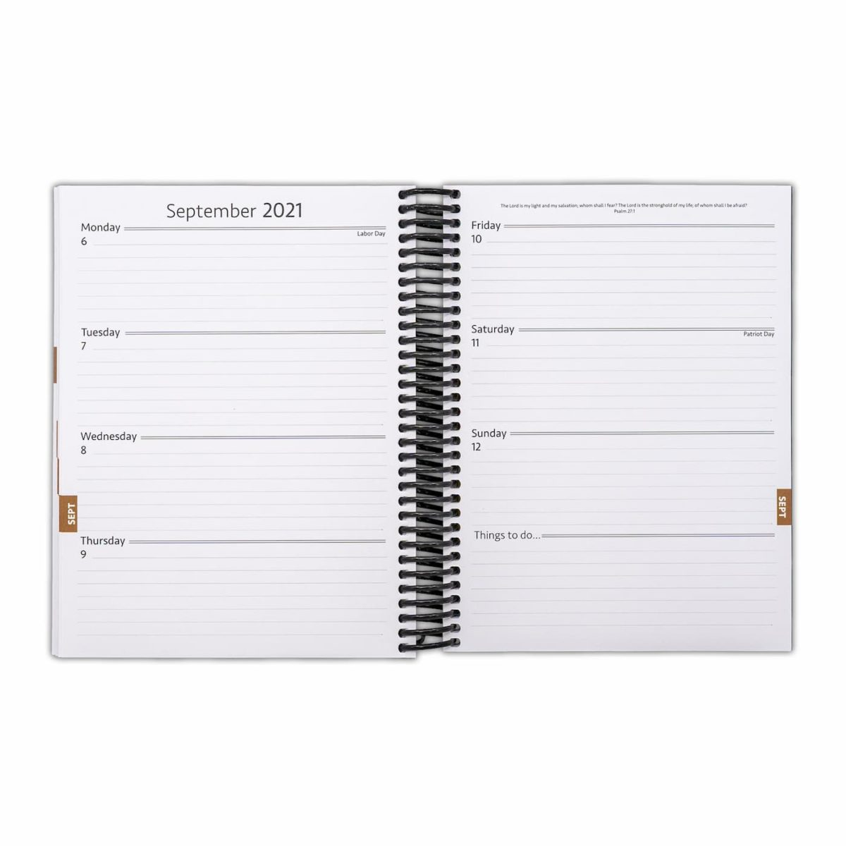 2021 Minimal Weekly Planner - Week Page