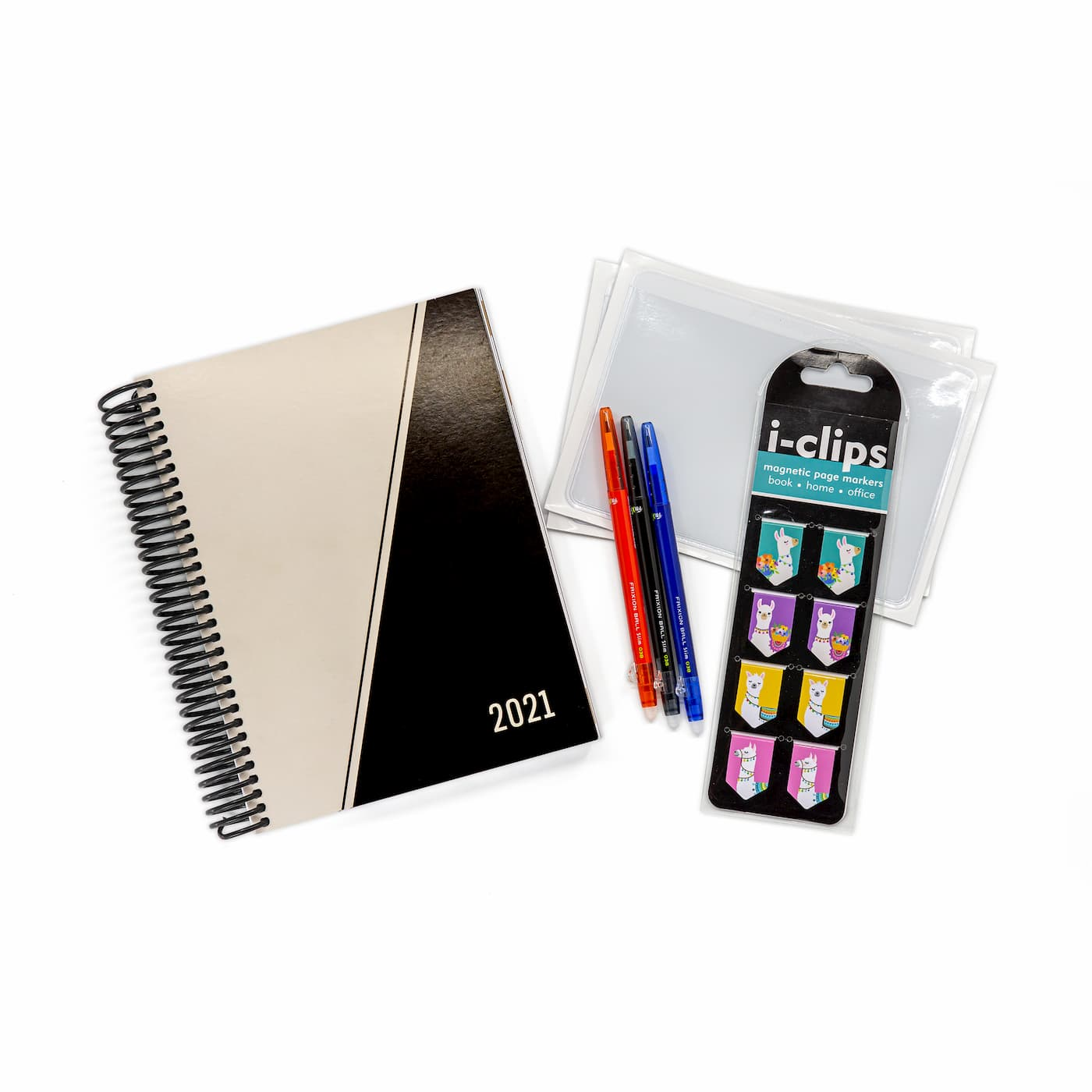2021 Minimal Weekly Planner with Nerd Kit