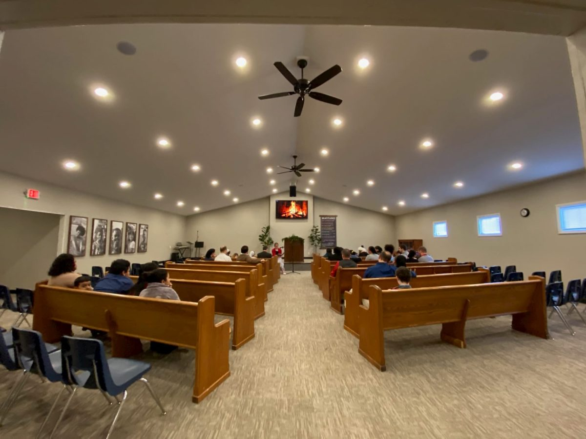 Cornerstone Chapel is a small church in Elkhart, Indiana