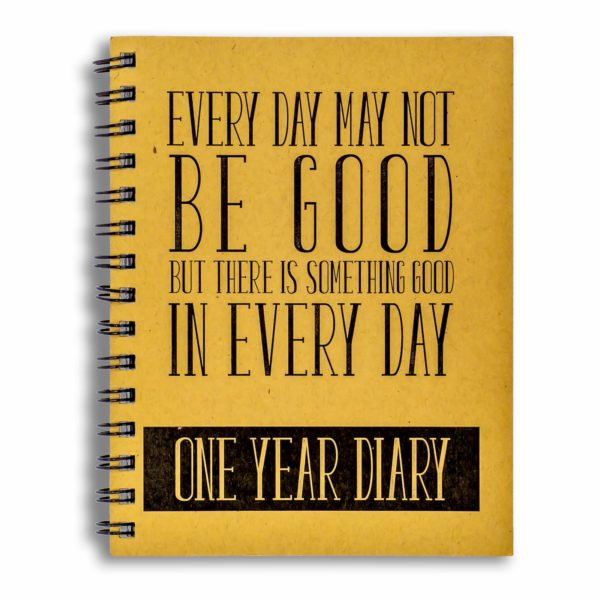 One Year Diary (Undated)