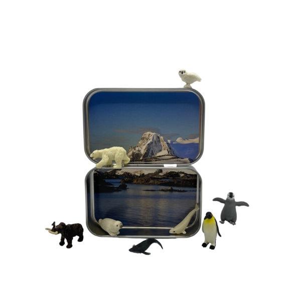 Pocket Arctic Animal Tin