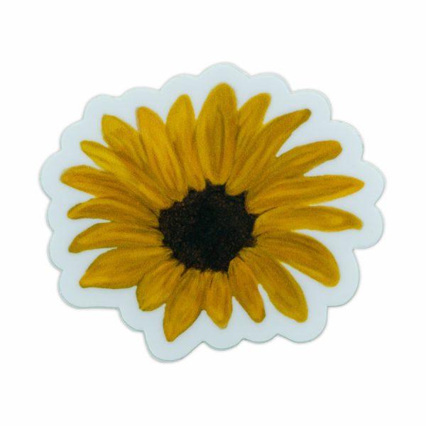 Sunflower Laptop Sticker