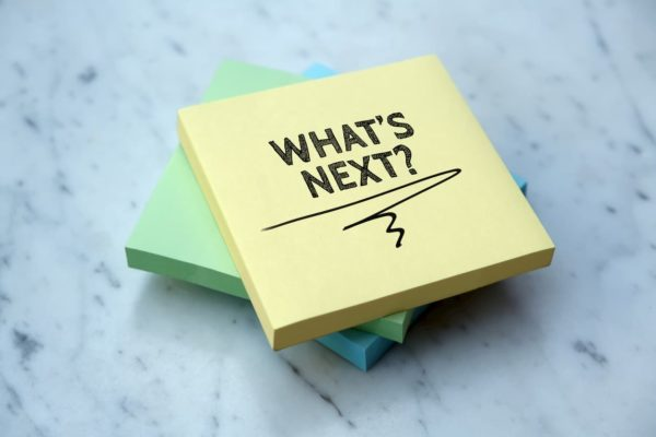 What's Next Sticky Note
